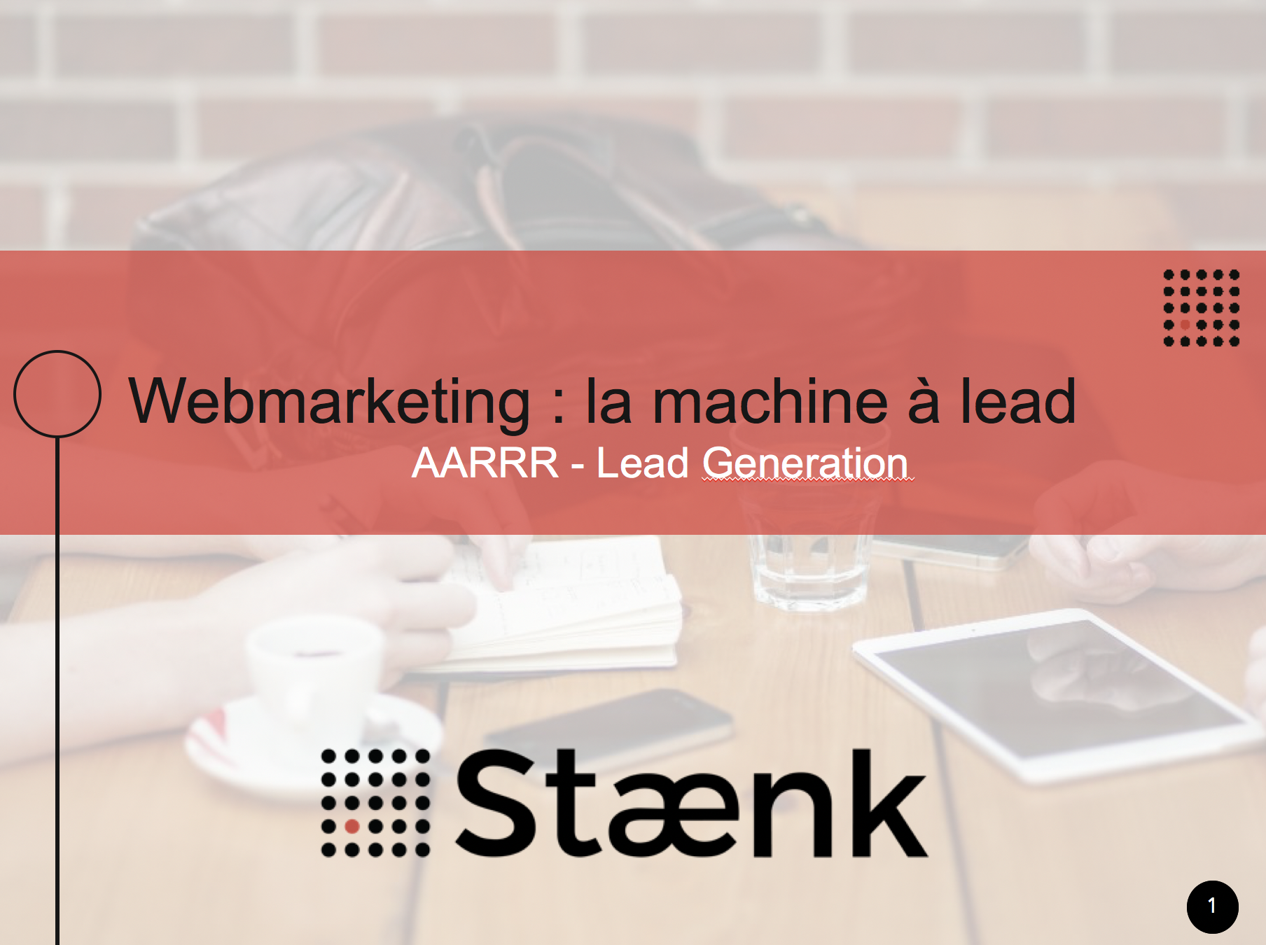 Staenk at the Human Talks in Lyon: Growth Marketing and Lead Generation